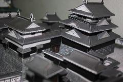 Japan slott arkivbild