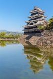Japan slott, Matsumoto slott Royaltyfri Bild