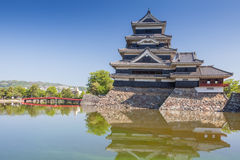 Japan slott, Matsumoto slott Arkivfoton