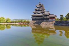 Japan slott, Matsumoto slott Royaltyfri Fotografi