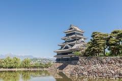 Japan slott, Matsumoto slott Royaltyfria Foton