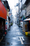 Japan Snow Street Royalty Free Stock Images