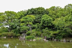 Japan-Sommer-Landschaft stockfotografie