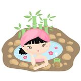 Japan Spa Royalty Free Stock Photography