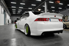 Japan sportbil, Honda Accord Royaltyfri Foto