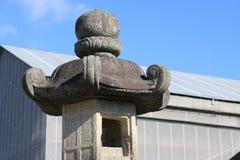Japan stone lantern Stock Photo