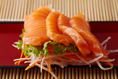 Japan style salmon b Stock Images