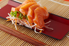 Japan style salmon a Royalty Free Stock Photos