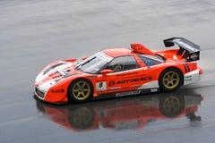 Japan Super-GT 2009 - Autobacs, das Team Aguri läuft Stockfotos