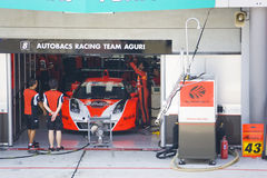 Japan Super GT 2009 - Autobacs Racing Team Aguri Stock Image