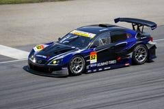 Japan Super GT 2009 - de Verschuiving van de Band van Kumho van het Team Royalty-vrije Stock Afbeelding