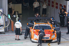 Japan Super GT 2009 - Lexus Team LeMans Eneos Royalty Free Stock Photo