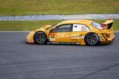 Japan Super GT 2009 - Team Apr royalty free stock photography