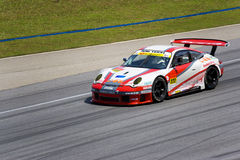 Japan Super GT 2009 - Team Arktech Motorsports Royalty Free Stock Image