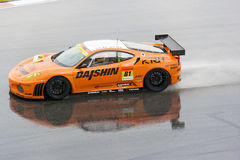 Japan Super GT 2009 - Team Daishin Royalty Free Stock Photo