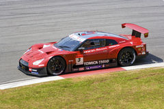 Japan Super GT 2009 - Team Hazemi Motorsports Stock Image