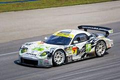Japan Super GT 2009 - Team M7 AANGAANDE het Rennen Amemiya Stock Foto