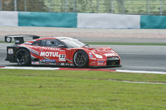 JAPAN SUPER GT SERIES – TEAM NISMO Royalty Free Stock Images