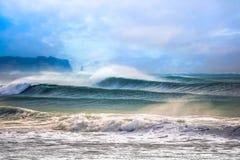 Free Japan Surf , Typhoon Wave Breaking At Hebara Beach Royalty Free Stock Image - 184147206