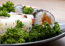 Japan sushi closeup Stock Photo