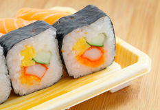 Japan sushi roll Stock Photography