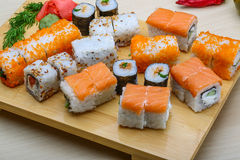 Japan sushi set Royalty Free Stock Photo