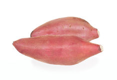 Japan sweet potato isolated with white background. Japan sweet potato isolated on white background Stock Photography