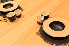 Japan table served Royalty Free Stock Photography