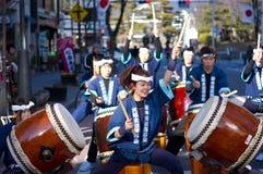 japan taiko Fotografering för Bildbyråer
