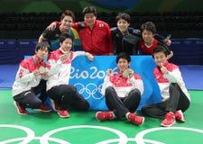 Japan team in Rio 2016. Stock Photo