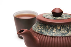 Japan teapot with a cup Stock Photo