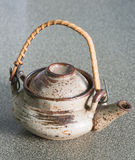Japan teapot and cup Stock Photography