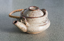 Japan teapot and cup Royalty Free Stock Photos