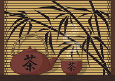 Japan-Tee stock abbildung