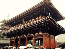 japan tempel Arkivbilder