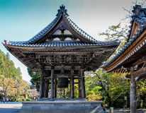 Japan tempel royaltyfria foton