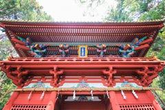 Japan tempel Arkivbild