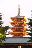 Japan temple , Asakusa Sensoji Royalty Free Stock Photo