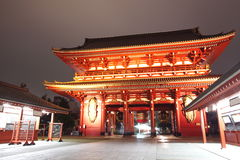 Japan temple , Asakusa Sensoji Stock Photography