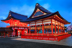 Japan temple. The beauty of the temples in Japan Stock Images