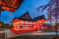 Japan temple. The beauty of the temples in Japan Royalty Free Stock Image