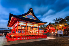 Japan temple. The beauty of the temples in Japan Royalty Free Stock Images