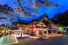 Japan temple. The beauty of the temples in Japan Stock Photography