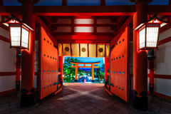 Japan temple. The beauty of the temples in Japan Royalty Free Stock Photos