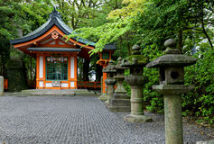 Japan temple Stock Image