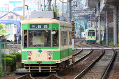 Japan : Toden Arakawa Line Royalty Free Stock Images