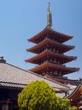 Japan - Tokyo - Asakusa Kannon Pagoda Stock Image