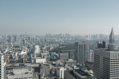 Japan, Tokyo, cityview Royalty Free Stock Images