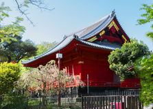 Japan. Tokyo. Kanyadi temple in Ueno Park. Royalty Free Stock Photography