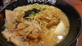 JAPAN, TOKYO - NOVEMBER 2016: Ramen with Pork Bone Based Soup stock photos